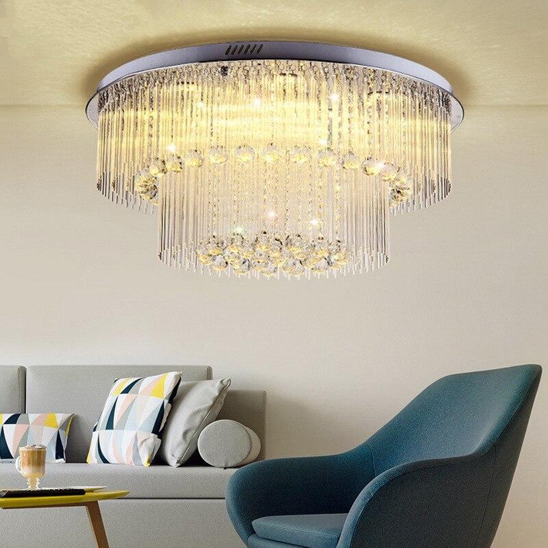 Luminárias Plafonnier Rodada Luxo Lmparas De Techo
