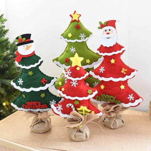 2017 New Kids Diy Christmas Tree Ornaments Children Gift Toddler