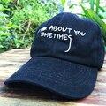 Boné de beisebol Eu penso em você às vezes Snapback chapéus para mulheres dos homens marca hip hop caps sol viseira do esporte de golfe diy pai enrolado pico