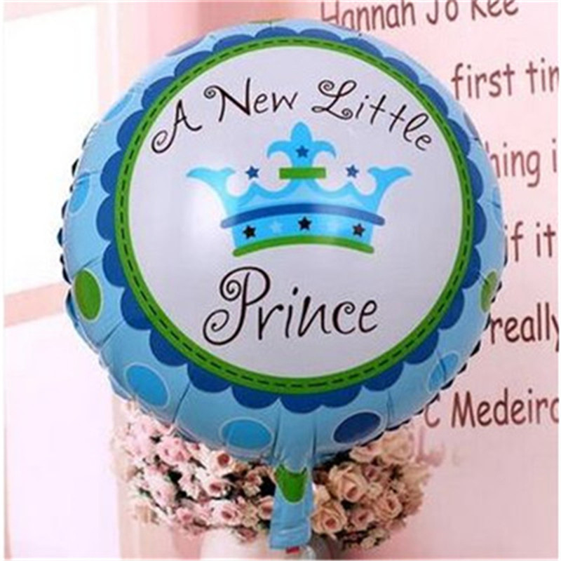 1 piece  Imperial crown balloon 2 color foil thick princess and princess balloon party supply kids birthday balloon