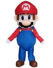大人サイズスーパーマリオマスコット衣装ファンシードレス素敵な兄弟ハロウィンパーティーイベント