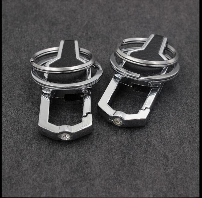 Модная обувь из искусственной кожи из цинкового сплава, цинковый сплав металлический ключ для Авто цепи лучший Деловой Подарок брелок для ключей для BMW 1 3 Ford металлический брелок