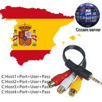 USB WiFi Supports CCcam 4 Lines 1 Year Cccam Clines ES DE IT PL NL PT