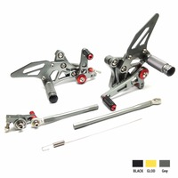 KEMiMOTO Rear Sets For DUCATI 1098 1098S 1098S 848 848EVO 1198 Adjustable Rearsets Rear Sets Foot Rests Pegs Pedal
