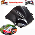 Motorcycle clean windshield windshield double bubble for Honda CBR600RR CBR 600 RR 2013 2014 2015