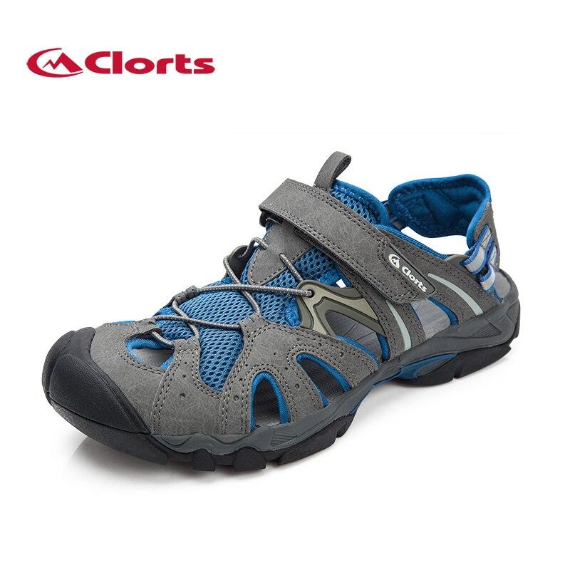 Мужские Clorts Аква обувь пляжные сандалии быстросохнущая летняя Уличная обувь из искусственной кожи для воды SD-207B/C