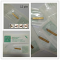 50 PCS PCD 12 pin  Permanent Makeup Manual Eyebrow Tattoo Bevel Blades 12 Needles