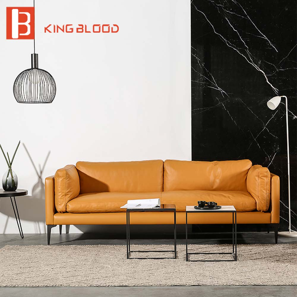 US $1300.0 |italian genuine leather sectional sofa design for living room  showcase-in Living Room Sofas from Furniture on Aliexpress.com | Alibaba ...