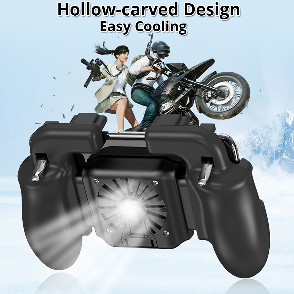 game controller hollow-carved design