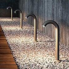 Thrisdar открытый садовый водопроводный светильник, пейзаж, дорожка, COB, газон, точечный светильник, для двора, вилла, алюминиевый столб, светильник