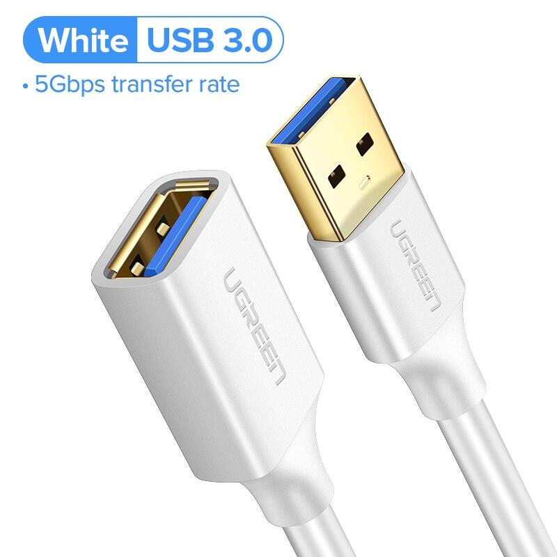 USB 3.0 - White