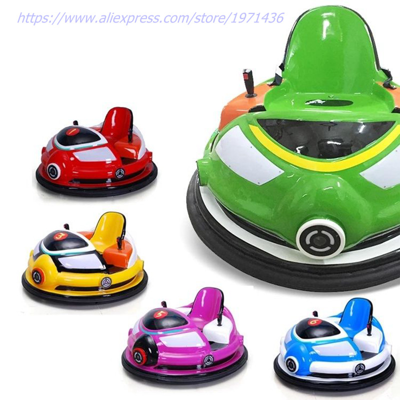 Amusement Park Electric Laser Combat Remote Control Bumper Collision Cars For Adults Children