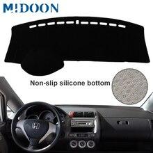 MIDOON لهوندا Fit جاز 2001 2007 سيارة التصميم يغطي داشمات داش حصيرة الشمس الظل لوحة القيادة غطاء كابتر 2002 2003 2004 2005 200