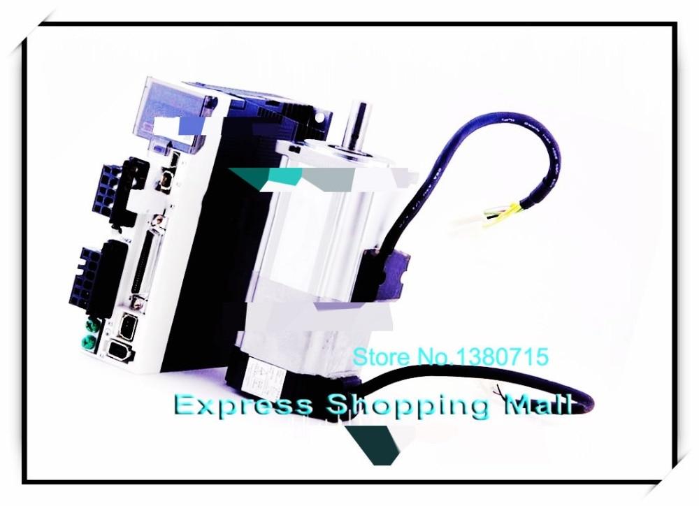 MSMD012G1V+MADKT1505E 100W 0.32nm 3000rpm 20-bit brake 200V Position Control Dedicated MINAS A5II servo motor&drive& cable msmj082g1v mcdkt3520e 750w 2 4nm 3000rpm 20 bit brake 200v position control dedicated minas a5ii servo motor