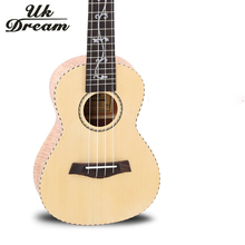 Acoustic Guitar Ukulele 23 Inch 18 Frets Musical Instruments Four Strings Spruce Okoume Veneer New Arrival Classic UC-57D
