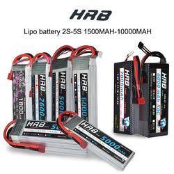 HRB RC Lipo 1S 2S 3S 4S 5S 3.7V 7.4V 11.1V 14.8V 18.5V Battery 1500mah 2200mah 3300mah 4200mah 5000mah 5200mah 6000mah 10000mah