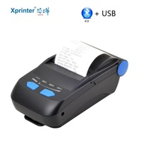 Mini Drahtlose Bluetooth Thermische Drucker Handy Android iOS Windows Ticket Drucker Mini Erhalt Bill Maschine
