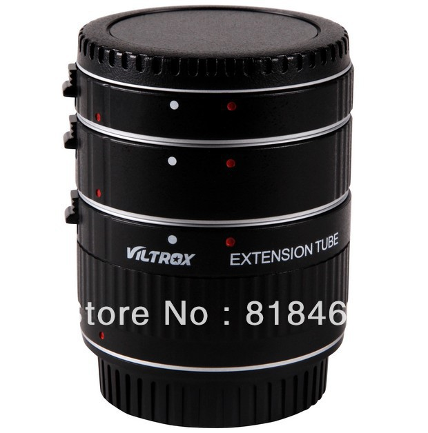 Adaptateur macro Viltrox autofocus AF confirmant l'ensemble de bagues d'extension Macro pour Canon EOS 500d 600d 60D 50D 7D Mark 5D III
