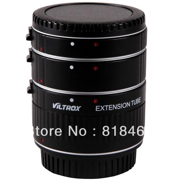 Macro adaptateur Viltrox Auto-focus AF confirmant Macro Extension Tube Anneau Ensemble DG pour Canon EOS 500d 600d 60D 50D 7D 5D Mark III