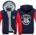 USA size Men Women Harry Potter Jacket Sweatshirts Thicken Hoodie Coat