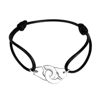 Fashion High Quality 925 Sterling Silver Handcuffs Bracelet Bangle For Women Men France Hot Sale Menottes