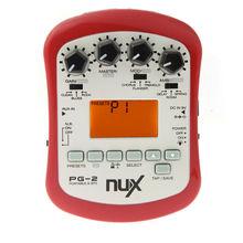 NUX Pg-2 Chorus Flanger Tremolo Pedal de Efectos de Guitarra y Sintonizador Metrónomo Envío Gratis