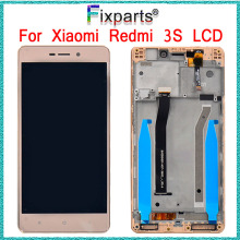 купить For 5.0 Xiaomi Redmi 3 Display Redmi 3S LCD Display Touch Screen Digitizer Assembly With Frame For Xiaomi Redmi 3S LCD +Tools дешево