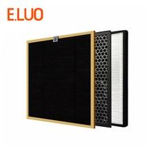купить High Efficient Filter Kits Formaldehyde Filter+ Activated Carbon Filter+HEPA Filter for AC4002 AC4004 AC4012 Air Purifier по цене 6623.19 рублей
