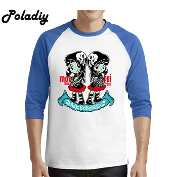 Babymetal Fan Art Men's Male Hip Hop Men Funny Tee Shirts Slim Fit Long Sleeve Shirt Boy Custom Party T Shirt Dropshipping