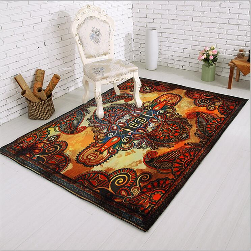 Polyester Modern Style Large Carpets