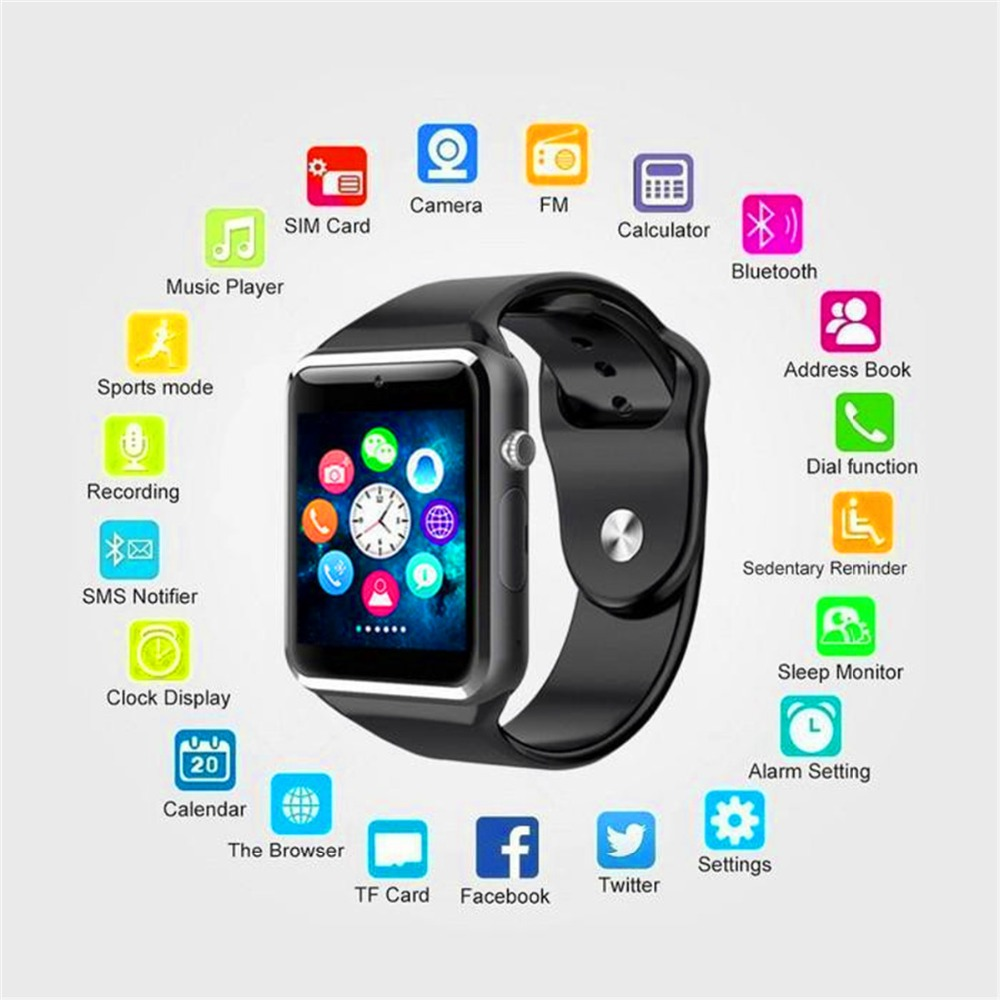 DZ09 New Smartwatch Intelligent Digital Sport Gold Smart Watch DZ09 Pedometer For Phone Android Wrist Watch Men Women's  Watch(China)