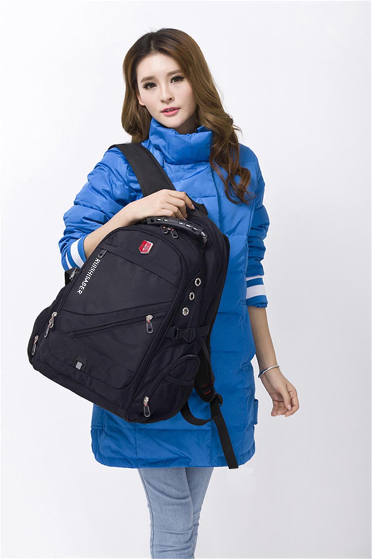 новинка 2017 года оксфорд швейцарский рюкзак 15/17 дюймовый ноутбук для мужчин и для женщин бренд путешествия рюкзак женский винтаж школьная сумка рюкзак мочила