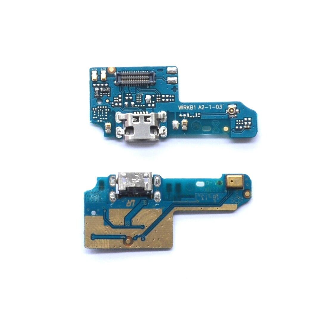 New Micro USB Dock Port Connector Board USB Charging Port Flex Cable For Asus Zenfone Max Plus M1 ZB570TL X018D