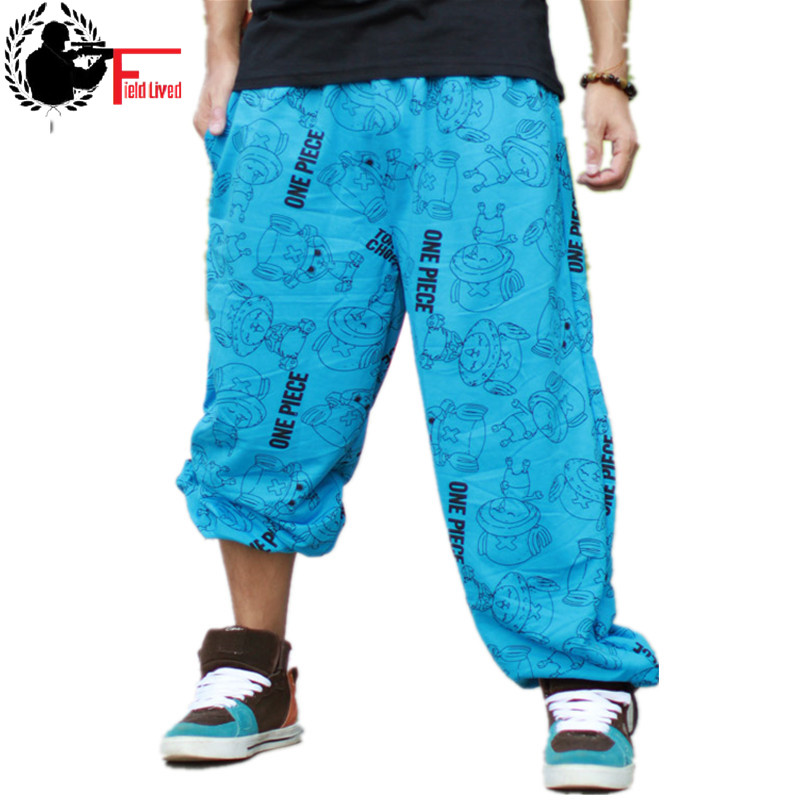 Trouser Sweatpants Jogger Thin Hiphop Loose Street Male Plus-Size Casual 5xl Spring Dance