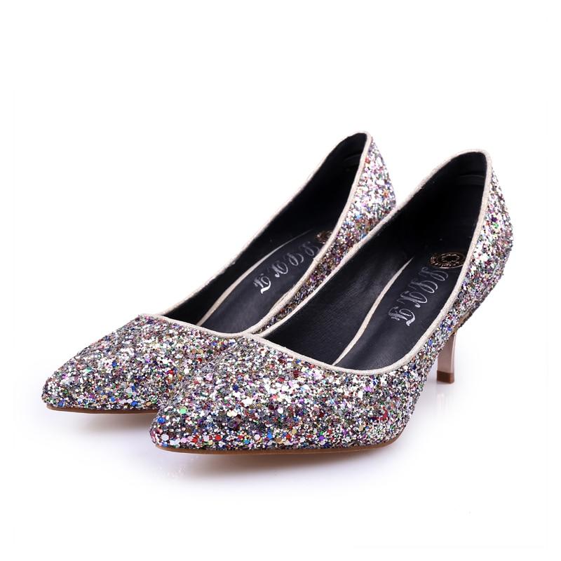 Popular Blue Glitter High Heels-Buy Cheap Blue Glitter High Heels ...