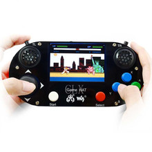 Raspberry Pi 3B+ Game LCD 3.5inch HDMI LCD Gamepad on board for Raspberry Pi 2B zero w RetroPie with Case(China)