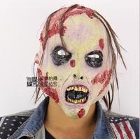 2017 Nova Festa de Halloween Cosplay Máscara de Horror Zombie Lábios Vermelhos Bruxa esqueleto Horror Partido Assustador Máscara Prop Fancy Dress Decoração brinquedo