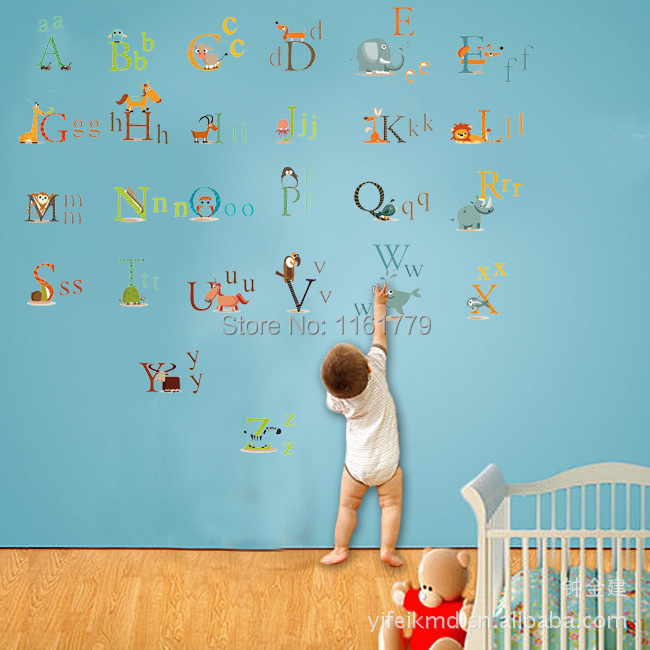 Popular Alphabet DecalBuy Cheap Alphabet Decal Lots From China - Vinyl wall decals alphabet