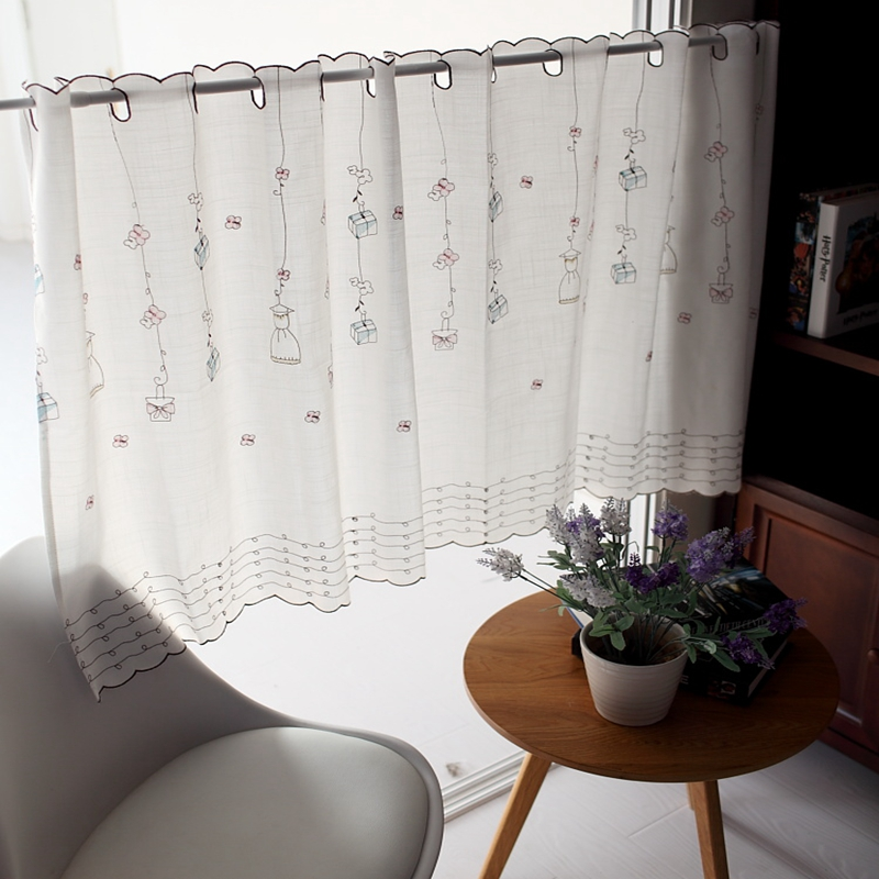 small bay window exterior aliexpresscom buy small fresh rural coffee curtain short yarn voile semi shade rustic lace bay window kitchen half dy037 20 from reliable