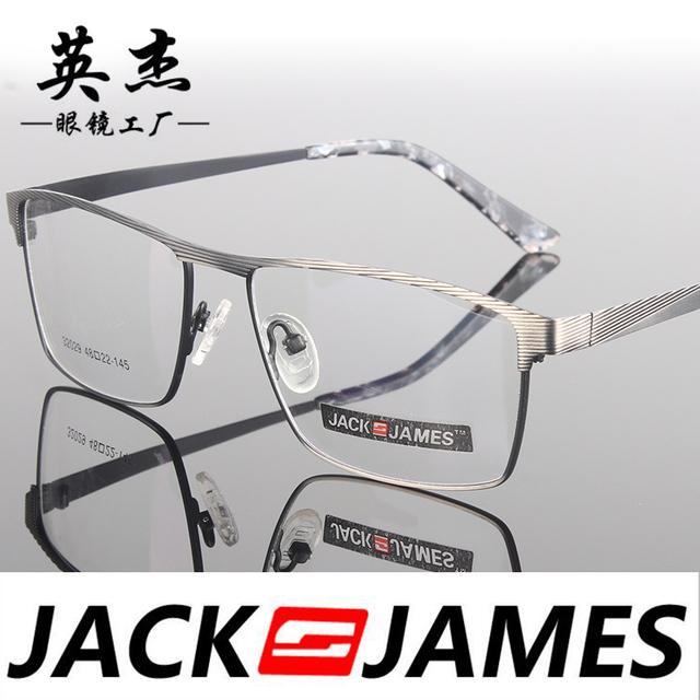 Praça caixa de armações de óculos de olho para homens e mulheres óculos de armação de óculos de prescrição moda mens óculos 32029
