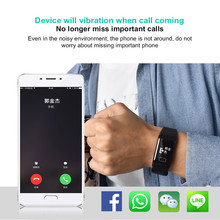 Blood Pressure Monitor  Fitness Tracker Activity Wristband Heart Rate Monitor Pedometer F1 Smart Watch