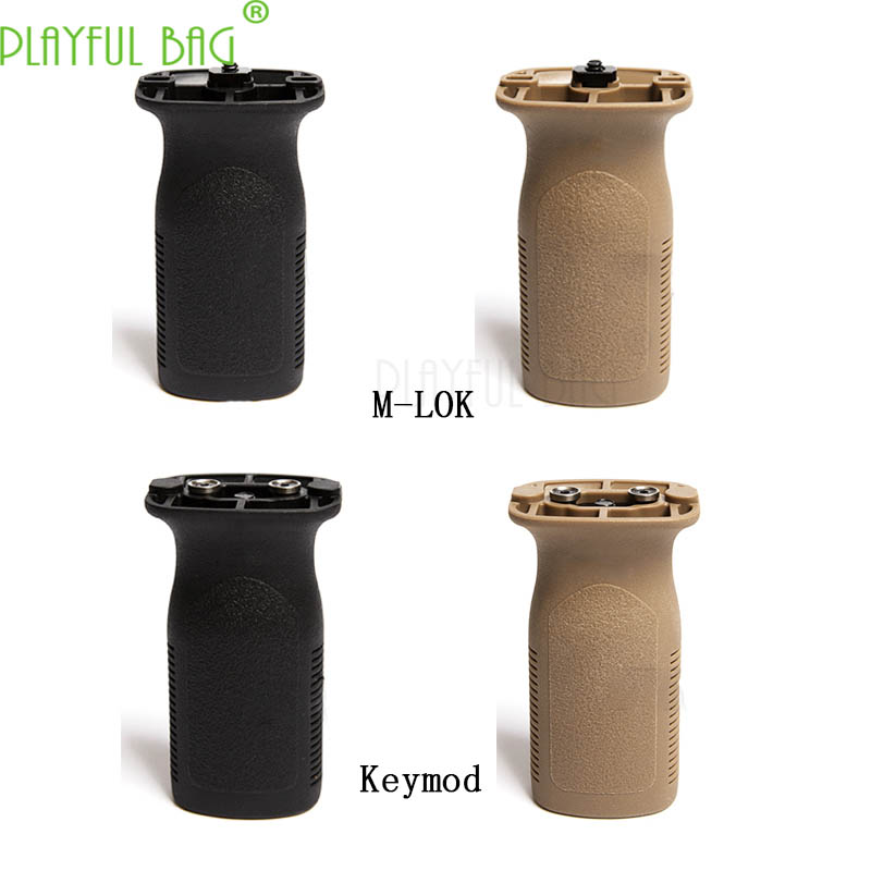 Outdoor Activity CS Keymod Direct Grip M-LOK Tactical Front Grip Toy Gel Water Bullet Gun Refitting Parts Best Gift LI45