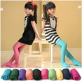 14 Colors Spring Girl Tights Velvet Fabric Kids Children Pantyhose Opaque Party Dance Tights Girl Stockings 3-9 Years