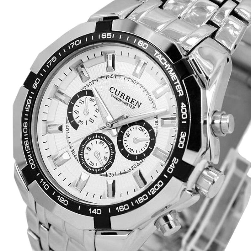 Prix pour 2016 Mens Montres Haut Marque Militaire Horloge Hommes Quartz Homme Sport Montres Mode Casual En Acier Plein Hommes Montre relogio montre homme