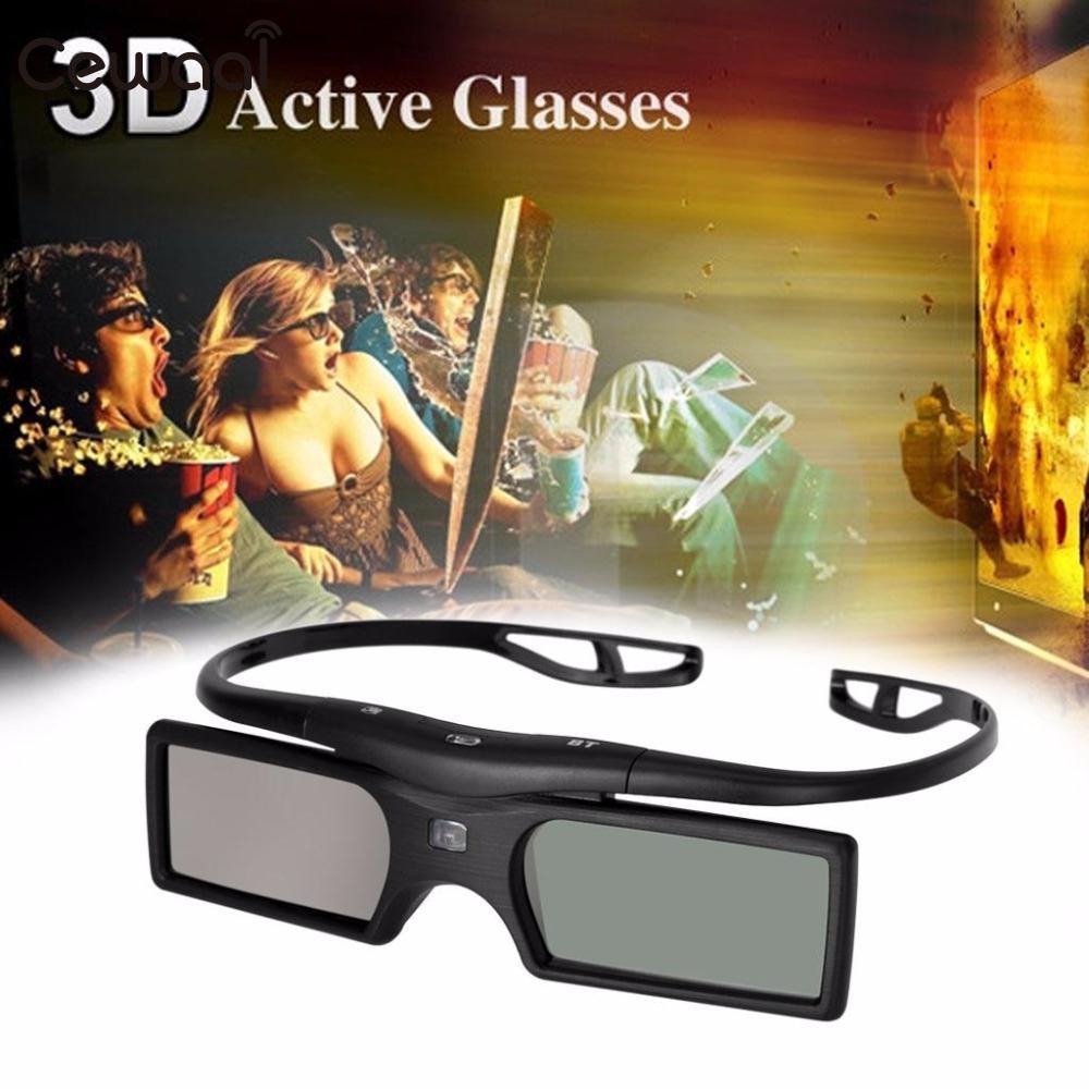 Cewaal High Quality New Bluetooth 3D Active Shutter TV <font><b>Glasses</b></font> <font><b>For</b></font> <font><b>Panasonic</b></font> Universal TV <font><b>Projector</b></font>