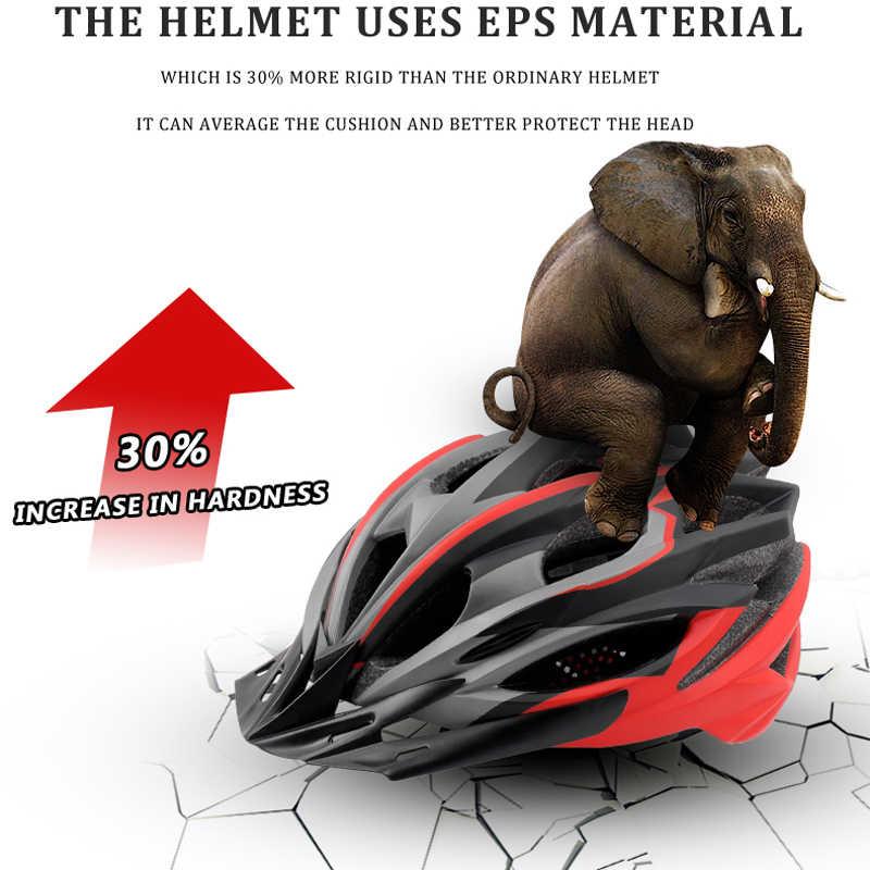 PHMAX 2019 велосипедный шлем для велоспорта ультралегкий EPS + PC Чехол MTB Дорожный велосипедный шлем цельная форма велосипедный шлем для велоспорта безопасная Кепка
