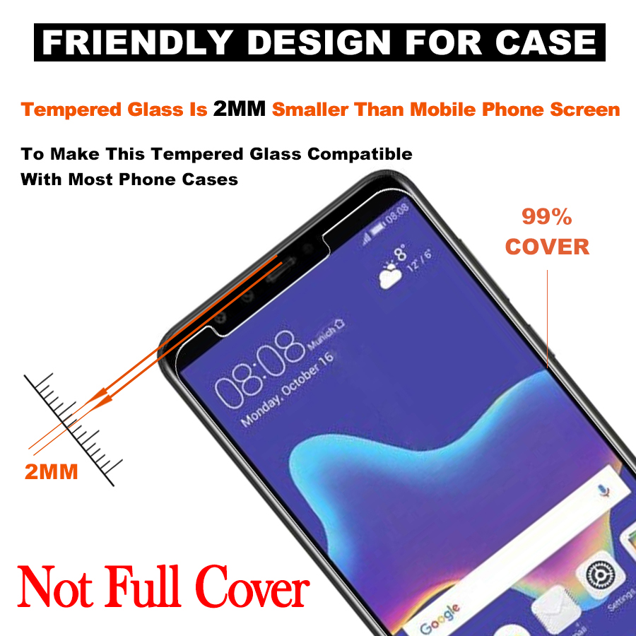Light-Tremp-For-Huawei-P6-P7-P8-P9-P10-Plus-Lite-Mini-Plus-Protective-Glass-On