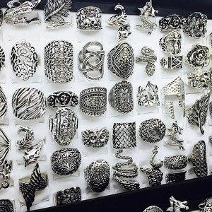 Image 1 - الجملة مجموعة 50 قطعة أنماط مزيج المرأة ريترو مجوهرات خواتم brand new
