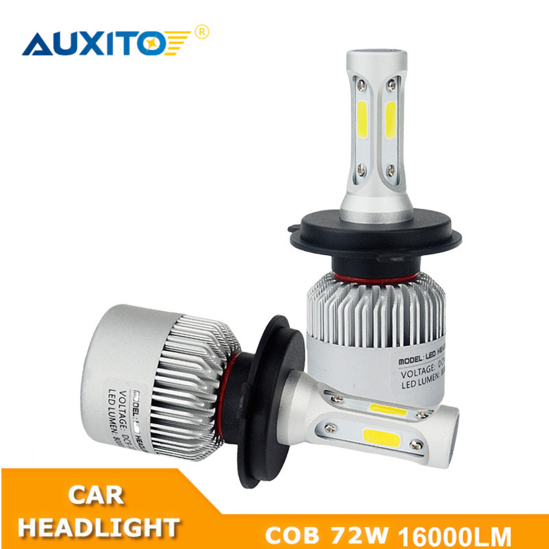 2X For Suzuki Swift Grand Vitara SX4 Jimny Samurai Alto Liana Ignis 9003 H4 9004 9005 H7 9007 Car LED Headlight Bulb 16000LM цена и фото