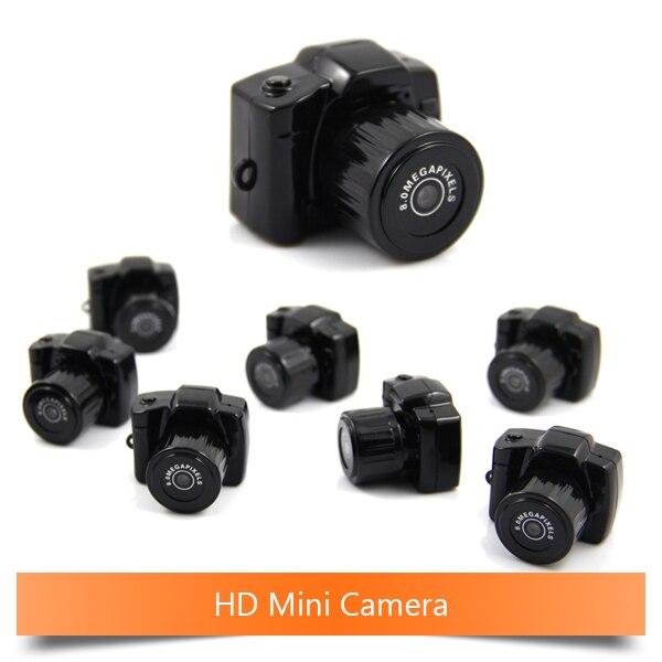Y3000 Micro Camera Smallest Portable 720P HD CMOS Mega Pixel Pocket Video Audio Digital Mini Camera Camcorder DV DVR Web camera